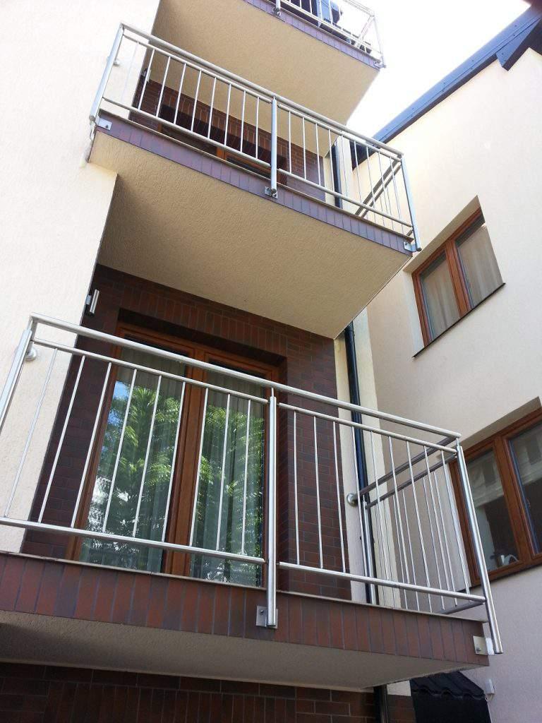 Balustrada balkonowa prostokątowa