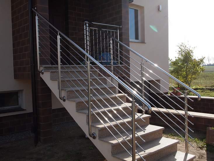 balustrada na schodach