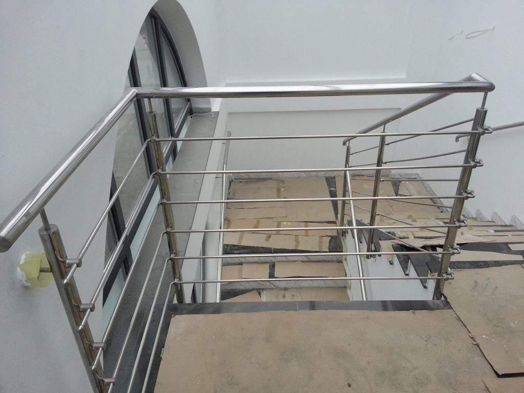 Balustrada na schody pozioma
