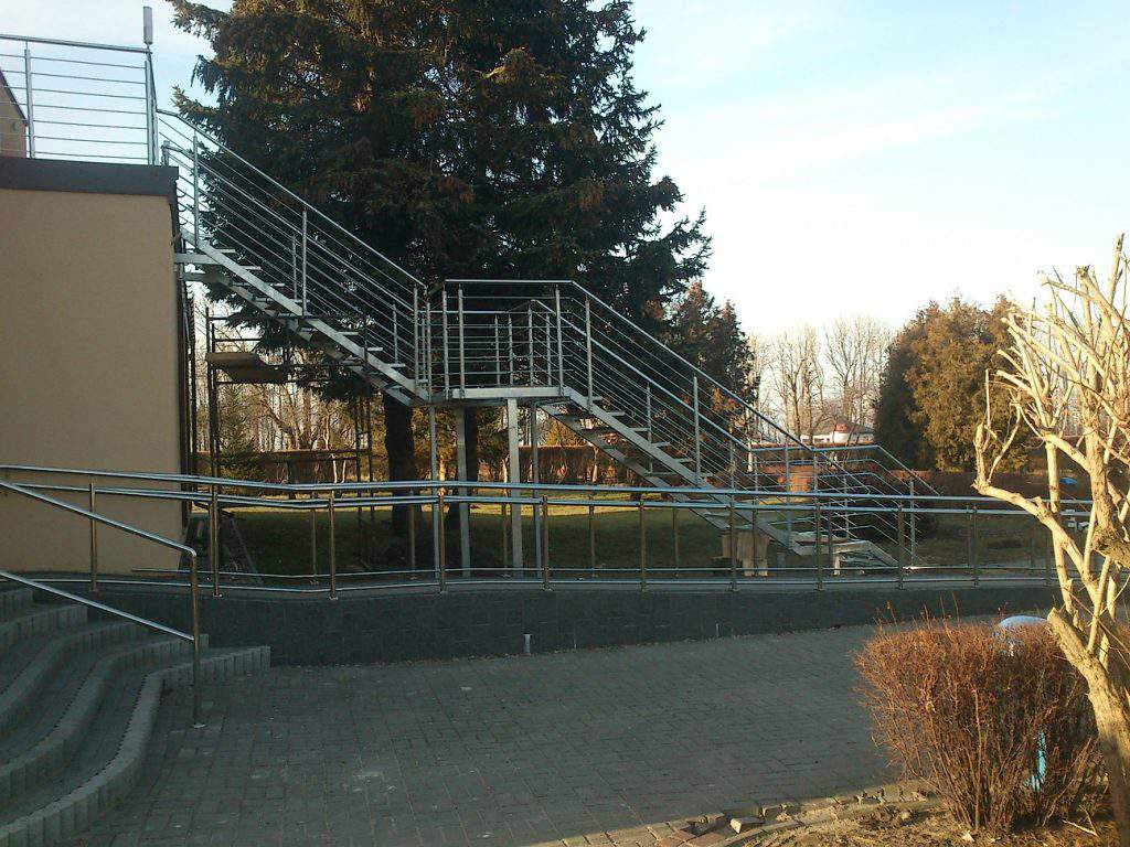 Balustrada pozioma