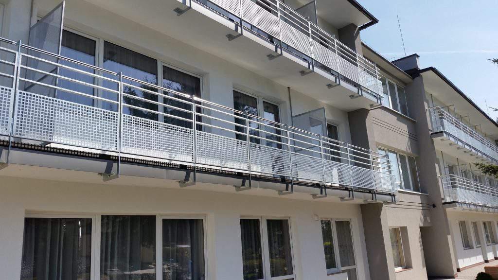 Balustrada z perforą